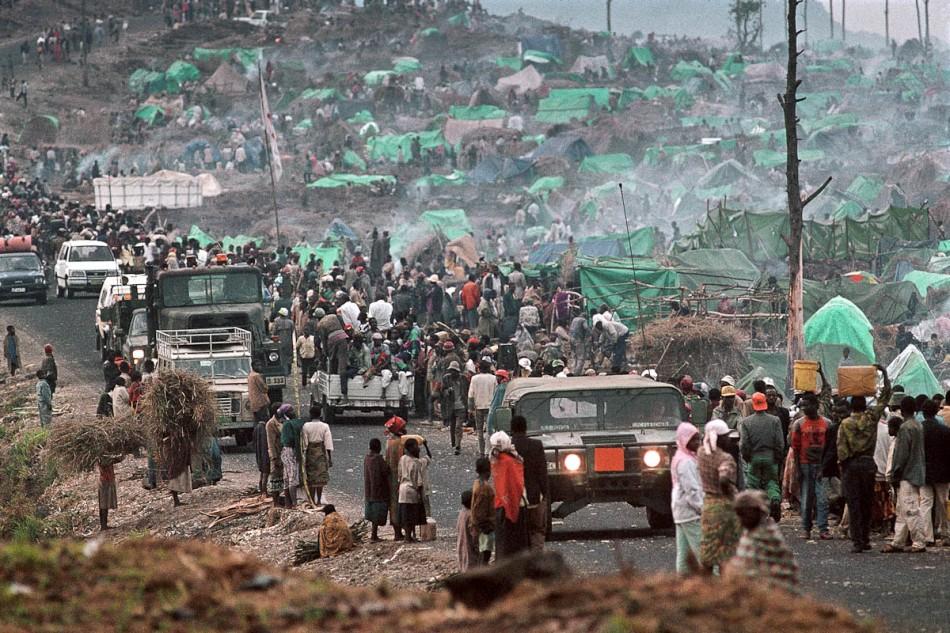 Linda Polman 1994 Rwanda Goma aid