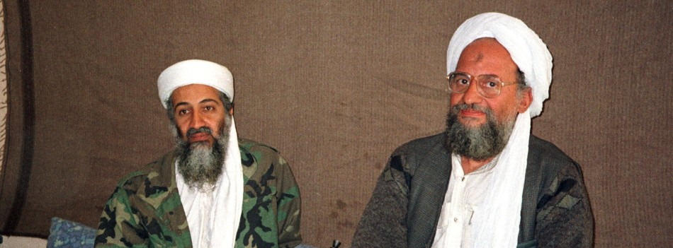 laden and zawahiri