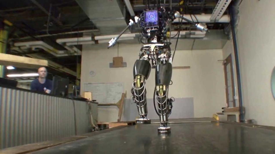 Boston Dynamics Robot, via MilitaryClips, Youtube