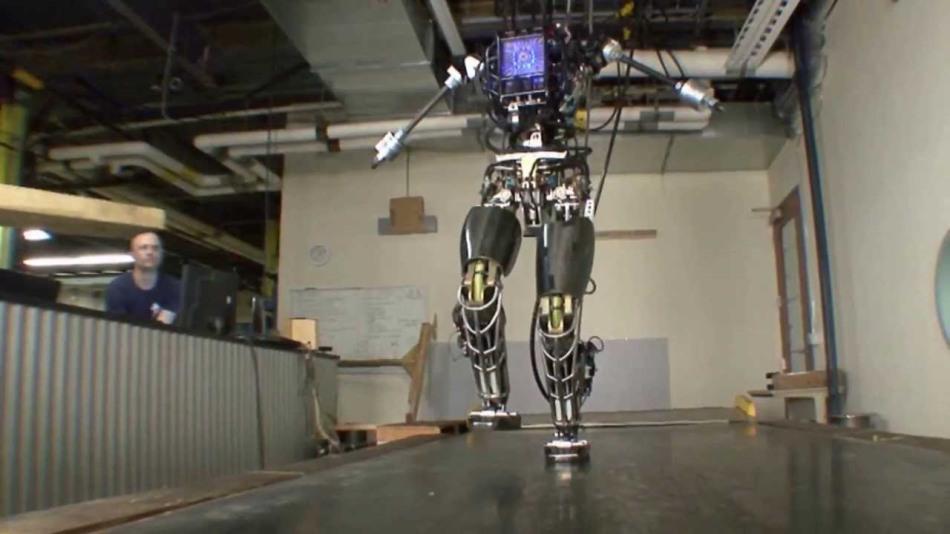 Boston Dynamics Robot, via MilitaryClips, Youtube